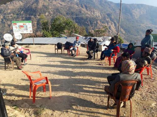 User meeting for safe water Kalinchok