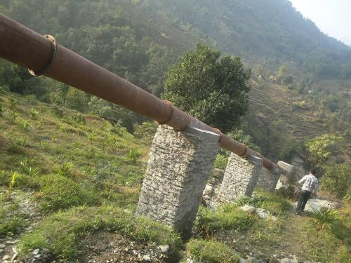 Penstock alliement