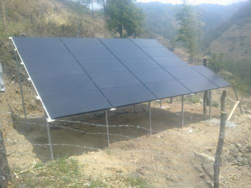 Solar sets for water lifting